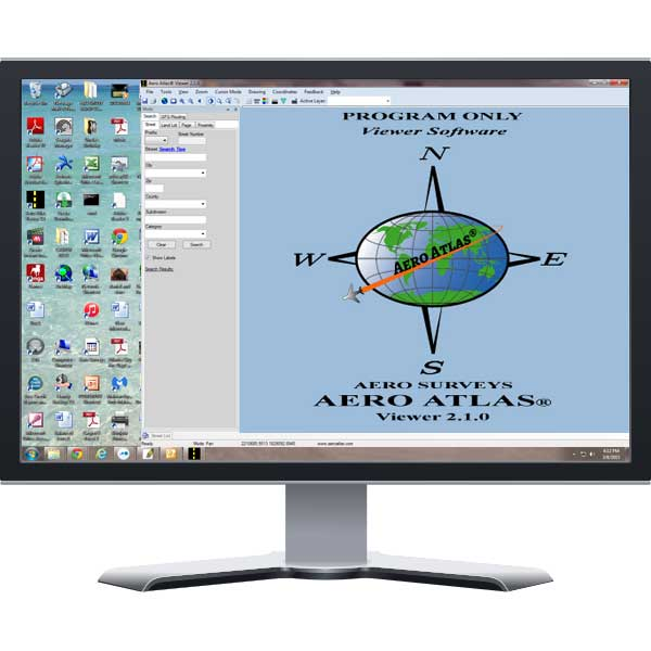 Cover image for Aero Atlas Viewer Software With (1) Free Data Coverage Area